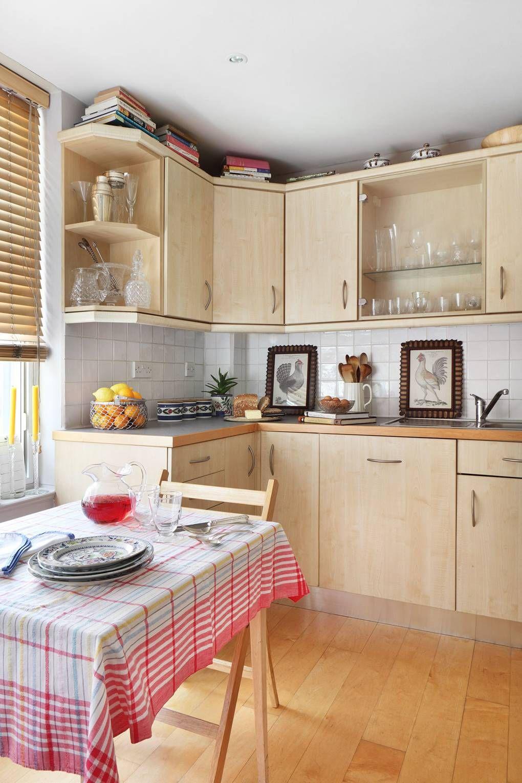 Flat Kitchen Designs: Laminate Flooring In Kitchen