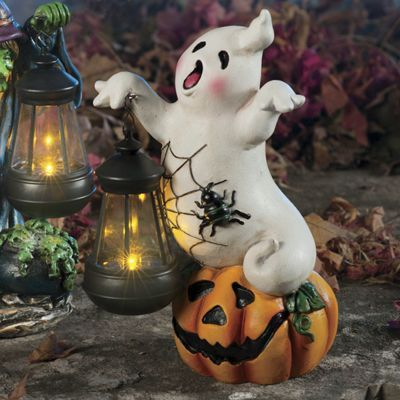 Halloween Lantern Ghost Figurine Halloween Other Pinterest