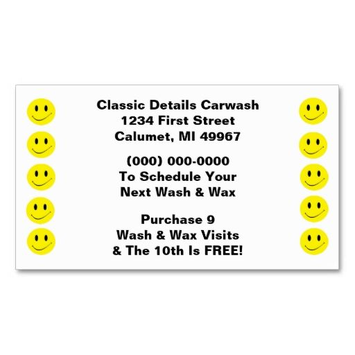 Retro business punch cards happy face smiling dots card templates retro business punch cards happy face smiling dots colourmoves