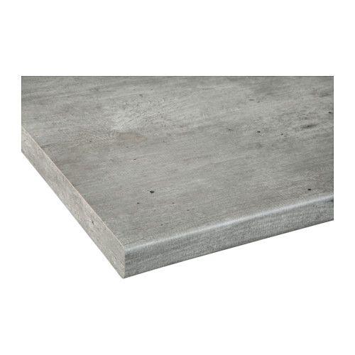GRILLBY Työtaso, tummanharmaa, betonikuvio | Bath, Interiors and ...