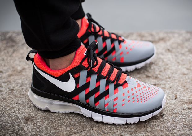 the latest deb2d d2b98 Nike Fingertrap Max - Bright Crimson - Dove Grey - Black - SneakerNews.com