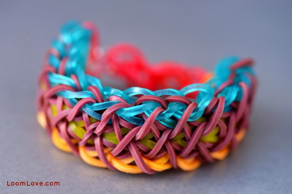 how to make rainbow bands