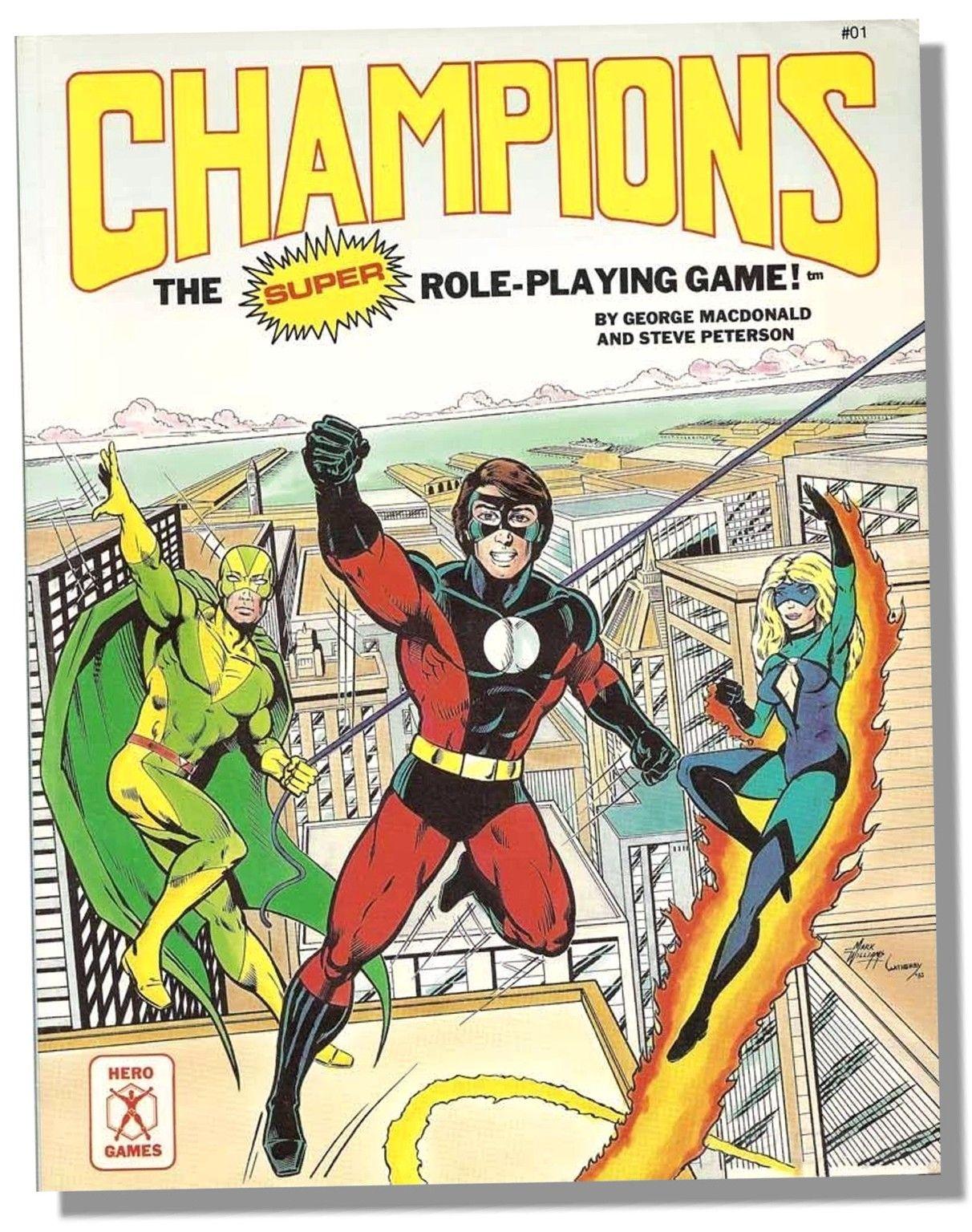 Champions 3rd Edition Hero games, Comic book superheroes