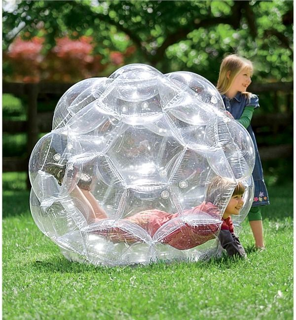 "51"" Transparent GBOP Outdoor Play Ball Magic Cabin"