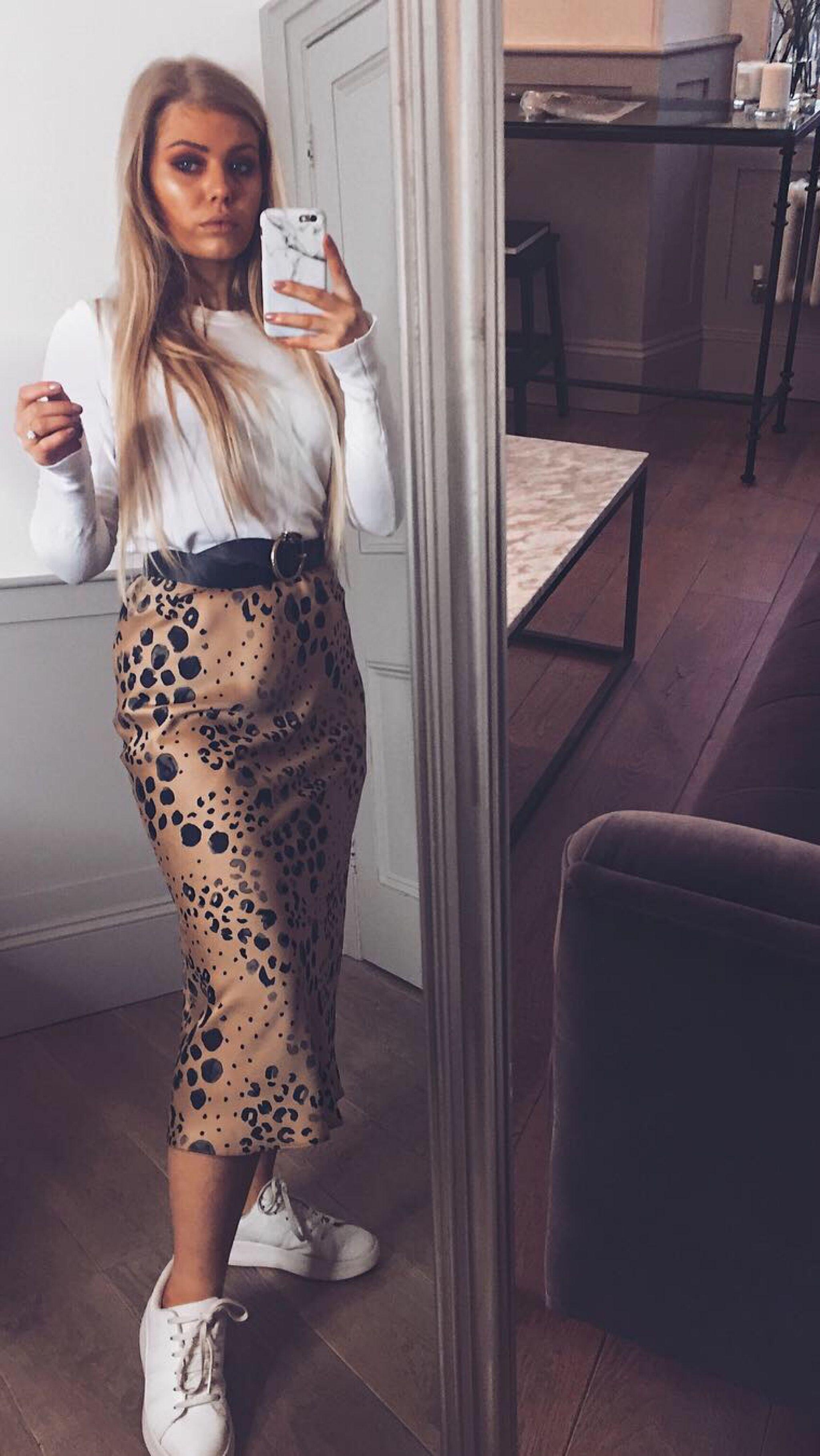 e97ac746 leopard skirt, realisation par, the naomi, wild things leopard skirt ...