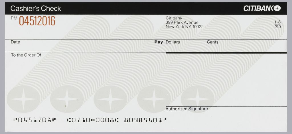 Design Is Split Into Roughly Five Horizontal Lines Registers That Running Length Cashier S Check Printable Checks Receipt Template