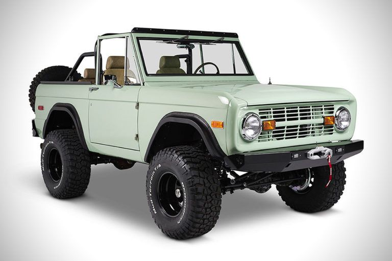 1970 Ford Bronco The Salt Flats Hiconsumption Ford Bronco