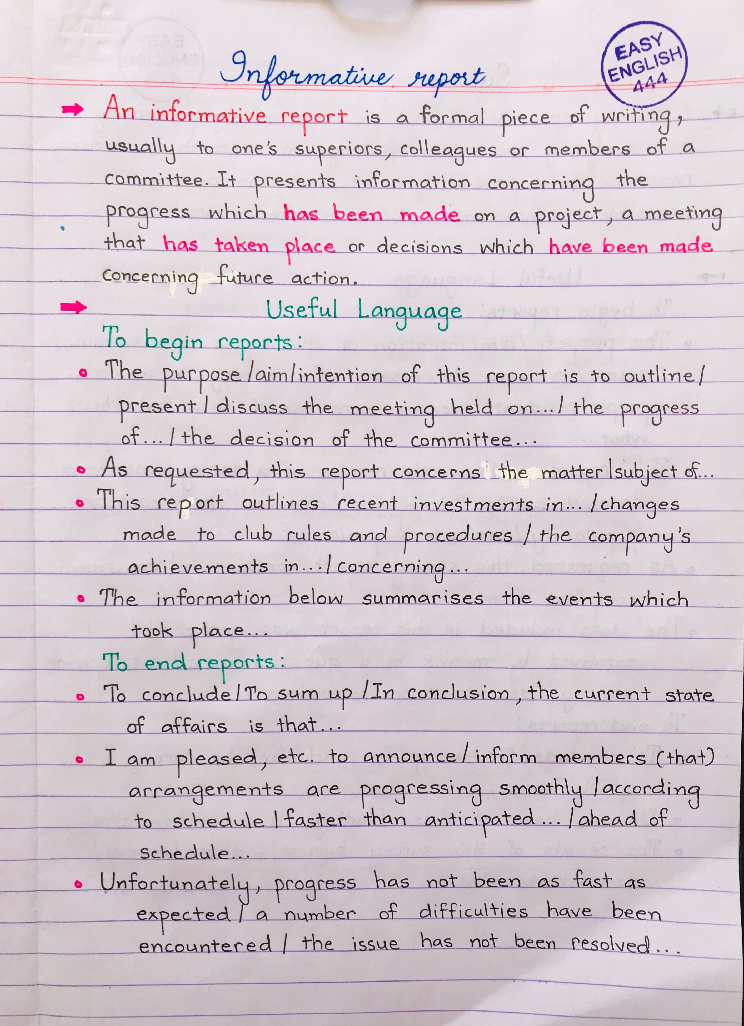 English Essay Writing Skills