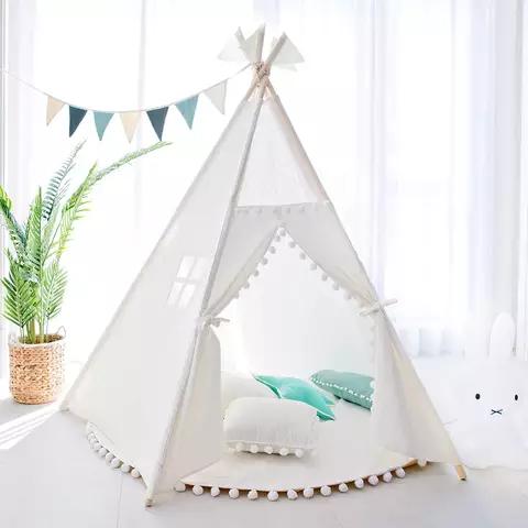 Baby Joy Portable Kids Children Indoor Outdoor Teepee Tipi Tent Wigwam Play Tent