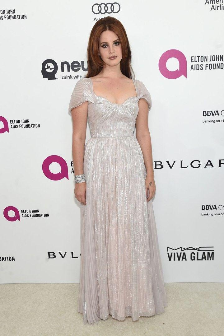 Lana at Elton John AIDS Foundation's Oscar Viewing Party, West Hollywood, California (Feb. 28, 2016)