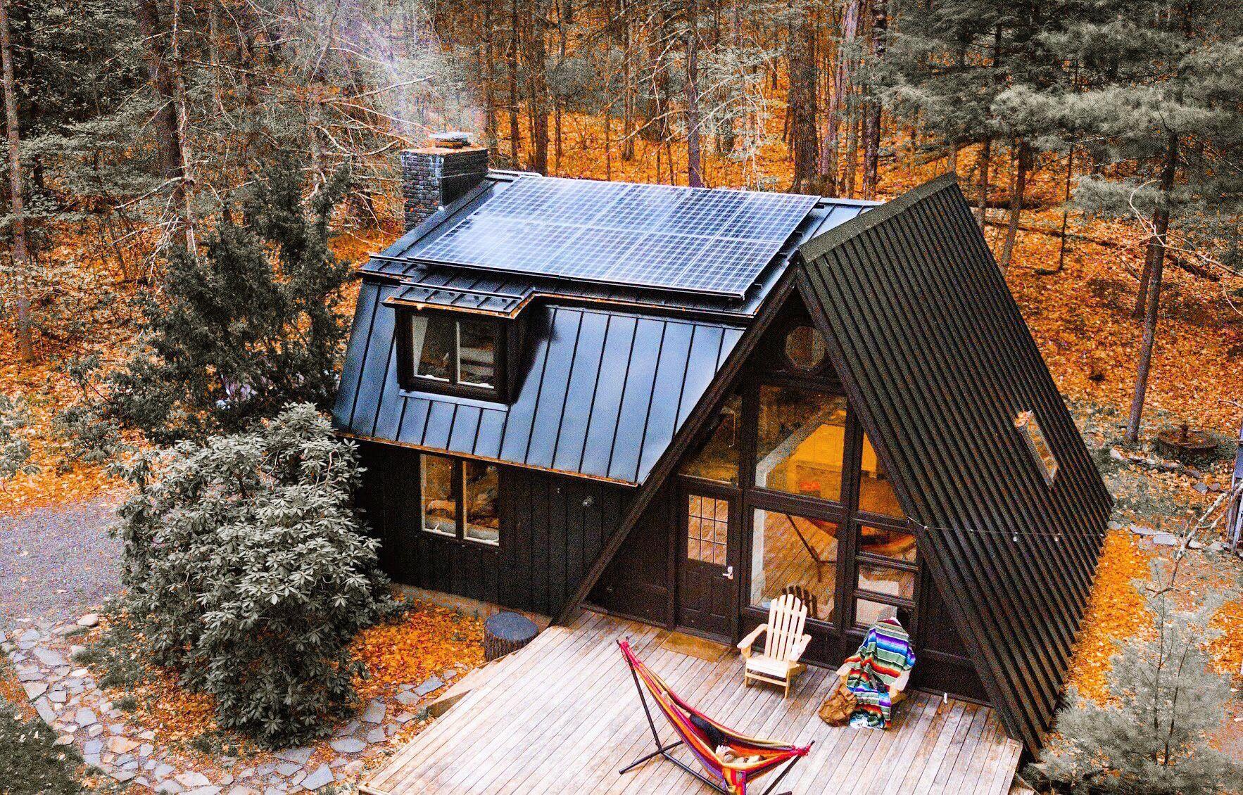 Настроение осень: 40+ уютных домиков в лесу ...