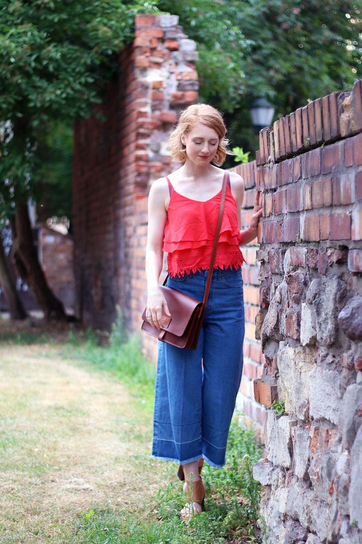 Sommerlook, Jeans Culotte, Hose, Sommer Look, Outfit, Tipps, Streetstyle, Modetipps, Finde deinen Stil, Influencer, Deutschland, Berlin, Mode…