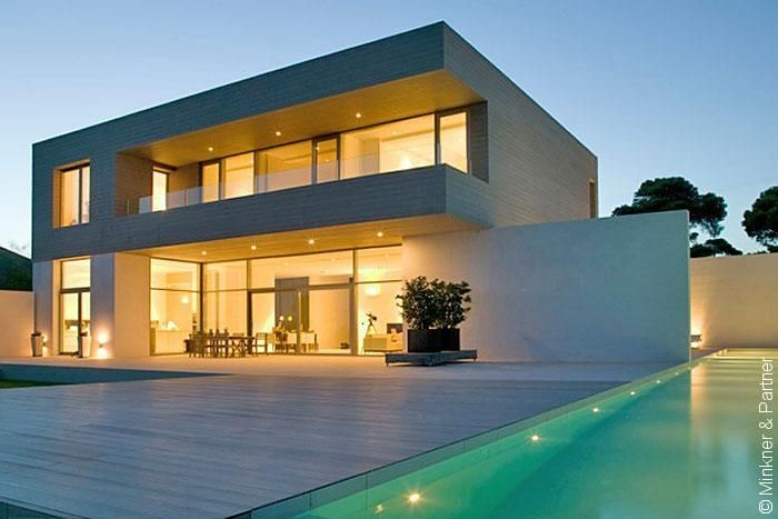Mallorca llucmajor ultra modern villa with unbeatable for Villa ultra moderne