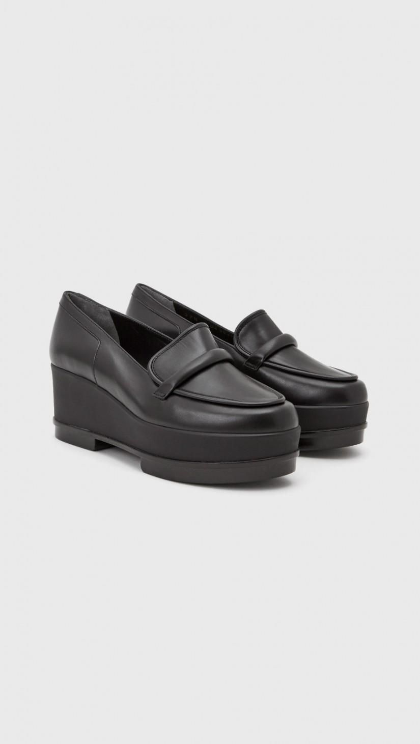 6c3354f0601 Robert Clergerie Yokolej Platform Loafer in Black