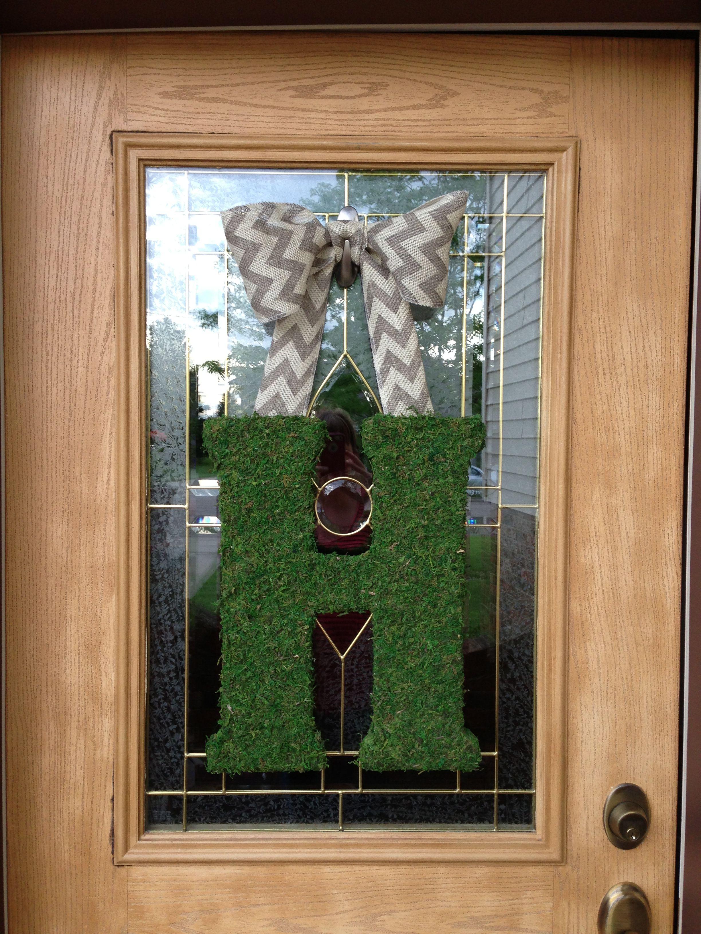 Front Door Summer Decoration :) LOVE!