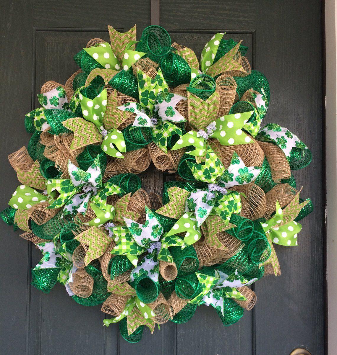 image 0 Wreaths st patricks, St patrick's day