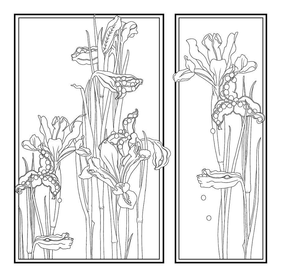 Cuatro Estaciones (libros para colorear) on Behance | Coloring ...