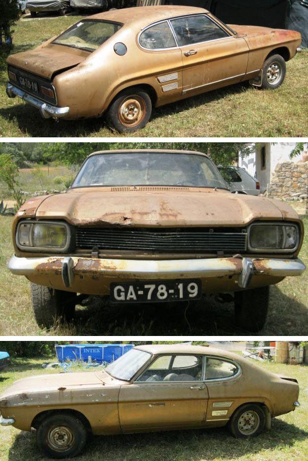 1970 Ford Capri 1600 Rust In Portugal 2012 Ford Capri Ford