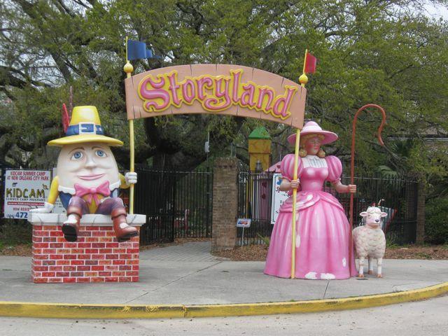 Storyland New Orleans Christmas 2021 Storyland 3 City Park New Orleans New Orleans New Orleans City