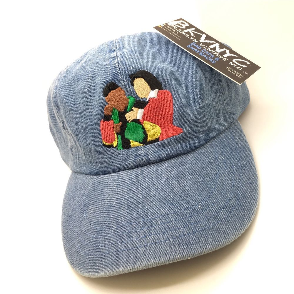 5ab88f90754 Denim Martin   Gina TV Show Dad Cap Hat Exclusive 90s in 2019