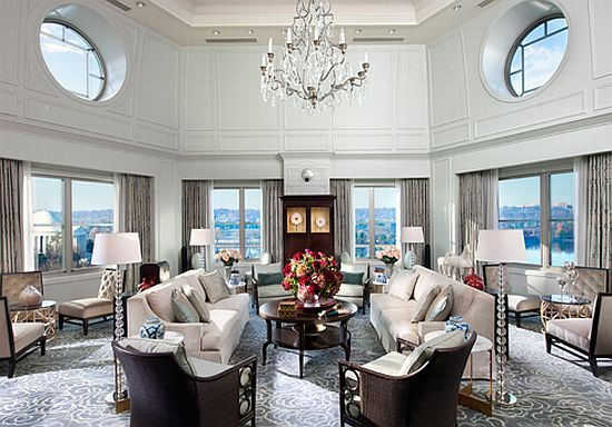 Presidential Suite Mandarin Oriental Washington D C Luxury Hotelsluxury