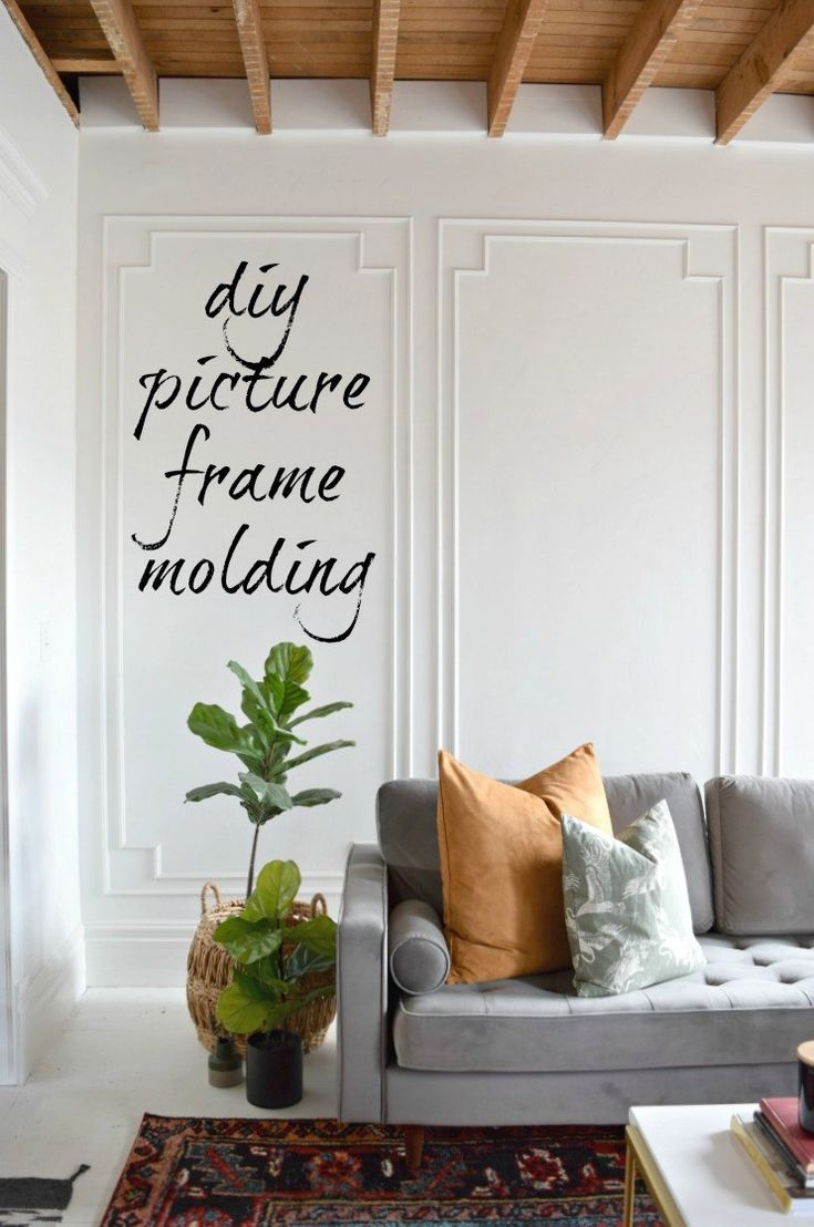 Photo of DIY Picture Frame Molding | Houseologie