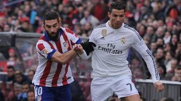 Por la ida de cuartos de final, Real Madrid y Atletico de Madrid se ...