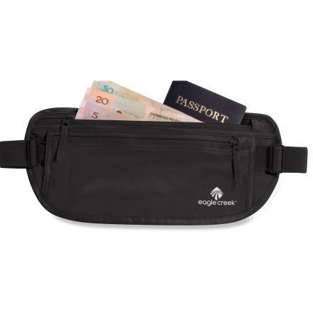 e140fd15a319 Eagle Creek Silk Undercover Money Belt Black in 2019 | I Pack This ...