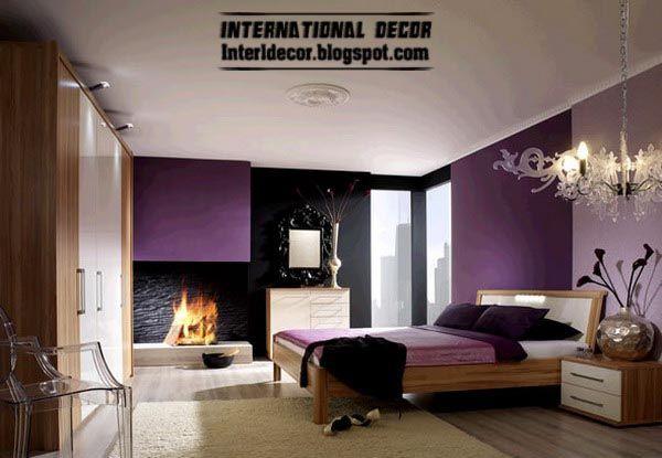 facelift 7 bedroom schemes latest bedroom color schemes purple rh pinterest fr latest master bedroom colors latest bedroom colors images