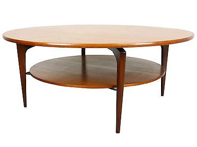 Elegant J Clausen Danish Teak Round Coffee Table | Mid Century Modern Vintage  Denmark In Antiques