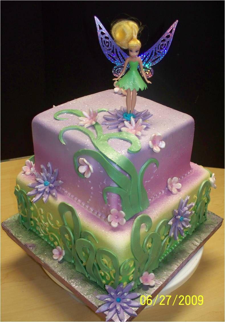 Тортик с феей динь-динь картинки