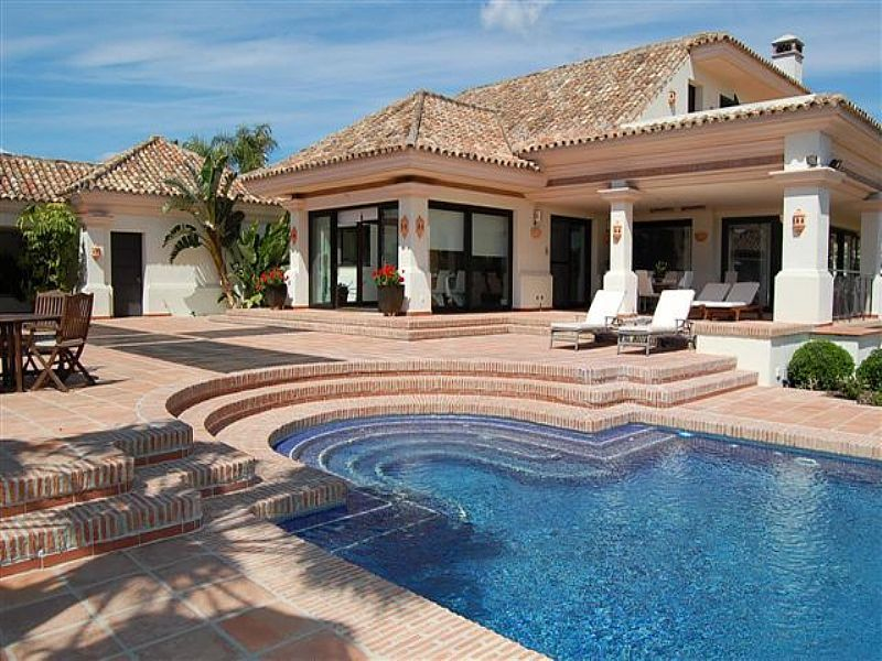 Villa For Rent In Nueva Andalucia. Private Holiday Home U2013 Nueva Andalucia,  Spain For
