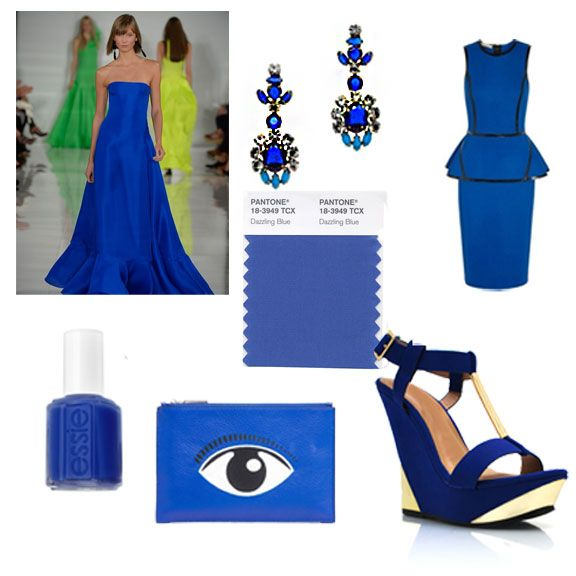 Color of Spring 2014: Dazzling Blue. #DazzlingBlue is Pantone's shade of the season…