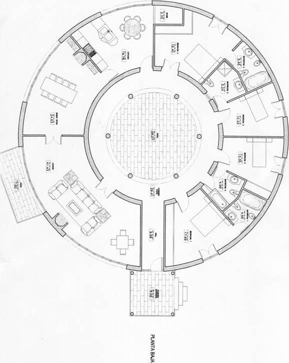 Roundhouse Floor Plans L 808be8bb417e8499 Jpg 578 724 Round House Round House Plans House Floor Plans