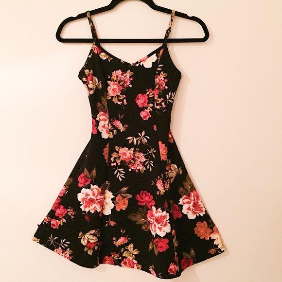 3edc56d2b8 Floral Skater Dress !!! !!! Skater Dress with very Pretty floral print!  New