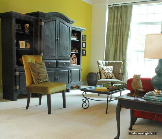 fun living room makeover by The Decorologist