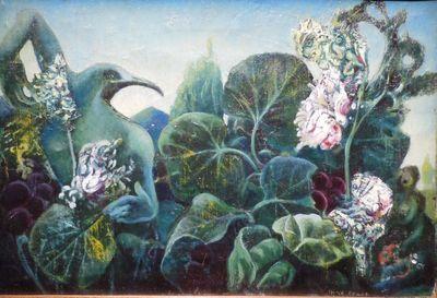 Ernst Nature Dans La Lumiere De L Aube Max Ernst Max Ernst Paintings Surrealism Painting
