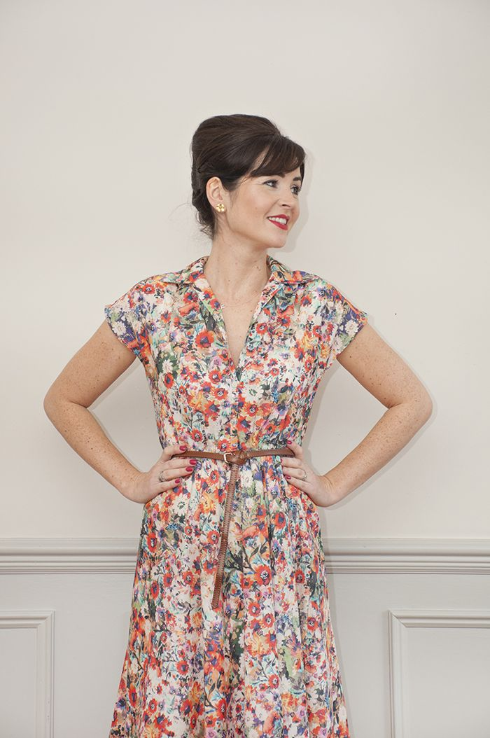 Penny Dress Sewing Pattern: Sew Over It Online Fabric Shop | Sewing ...