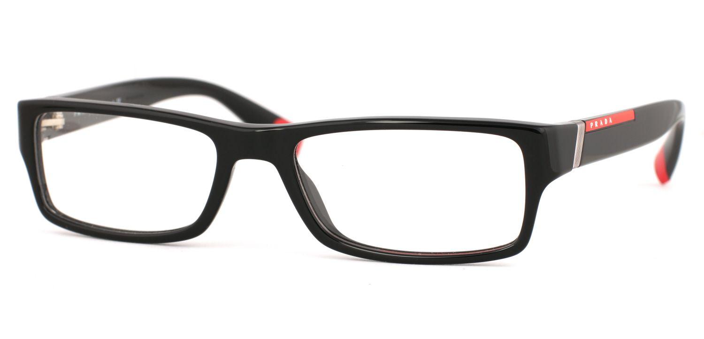 Prada Linea Rossa Ps 03cv Eyeglasses Free Shipping