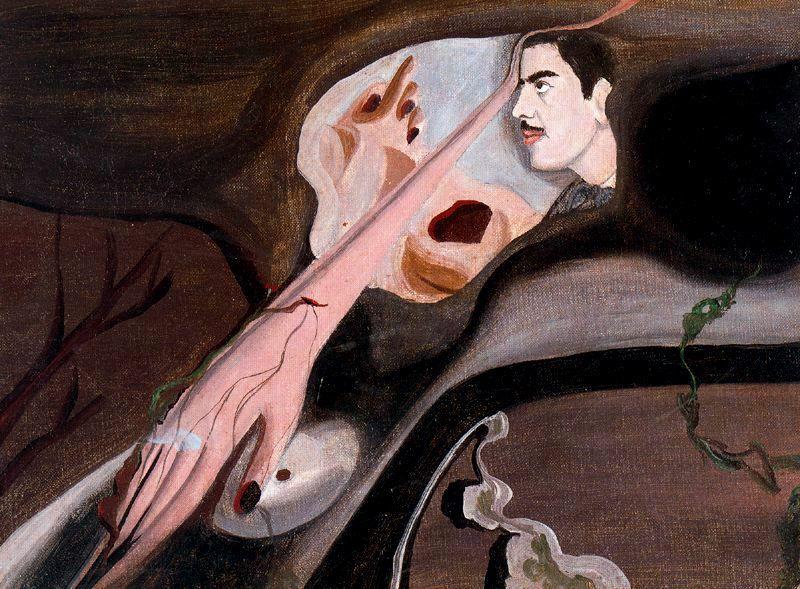 Resultado de imagen de ilustrador chileno Roberto Matta y oscar dominguez