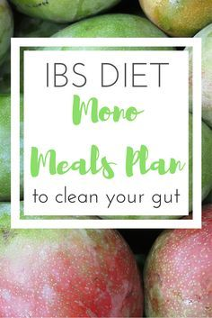 Mono Meals Plan to help with IBS | Fresh Start | Mono meals