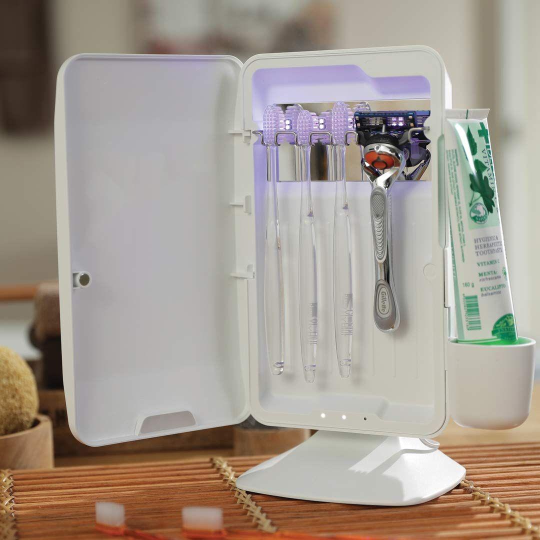 avari dual uv heat premium toothbrush sanitizer in 2020 on disinfectant spray wall holders id=93254