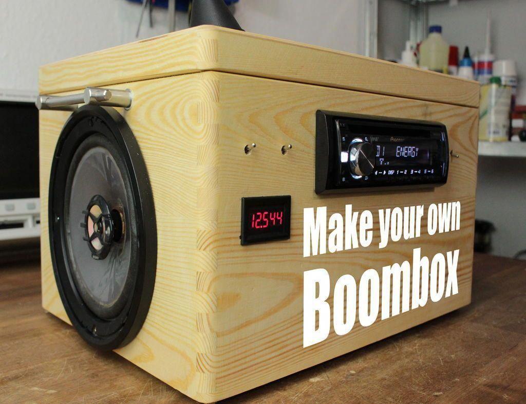 SleepApneaAndAsthma SolveSnoring Diy boombox, Boombox
