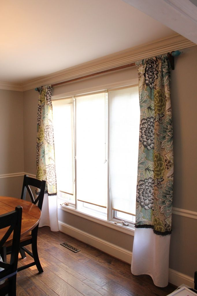 Turning Shower Curtains Into Drapes It Makes Finding Printed Easier Cheaper