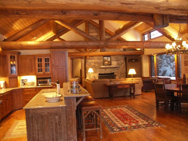 love absolutely love cabin kitchen and bath one day my home rh pinterest com