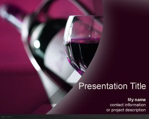 Wine bottle powerpoint template is a free ppt template for wine bottle powerpoint template is a free ppt template for presentations that you can download for toneelgroepblik Image collections