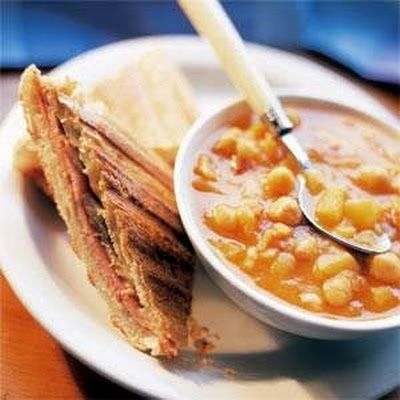 Today Spanish Bean Soup is a favorite dish found in all six Columbia Restaurants located in Florida. Description from keyingredient.com. I searched for this on bing.com/images