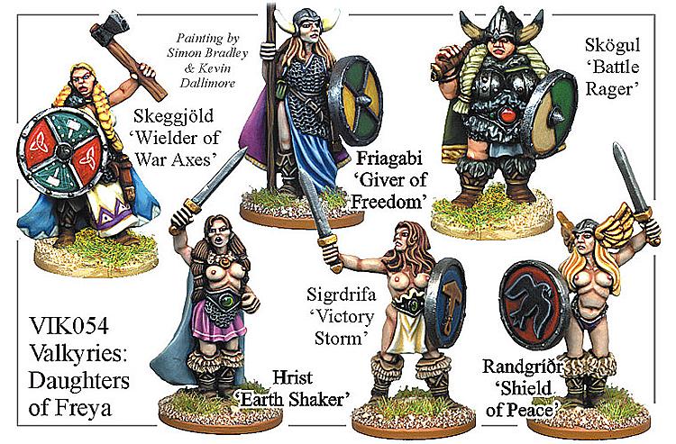 Viking Valkyries Daughters Of Freya - VIK054 | Wish List ...
