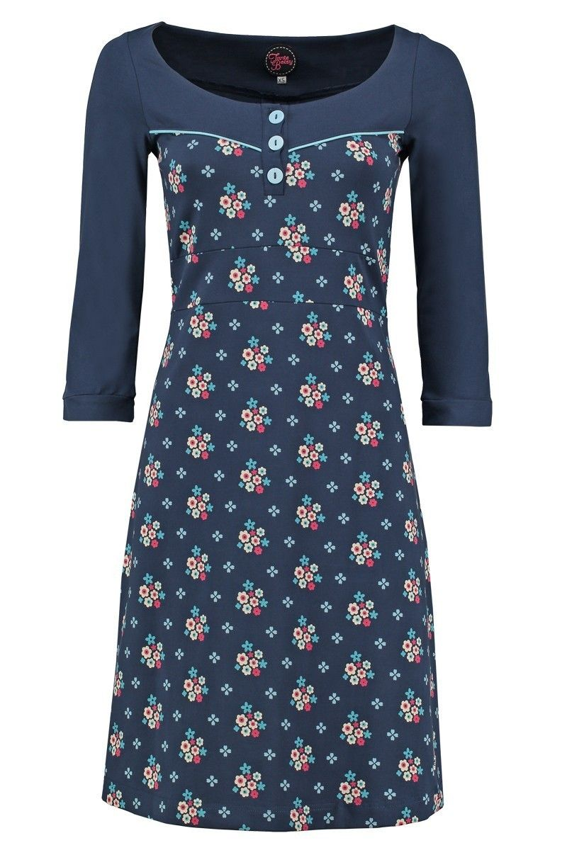 Dress Tammy Winterflower Blue