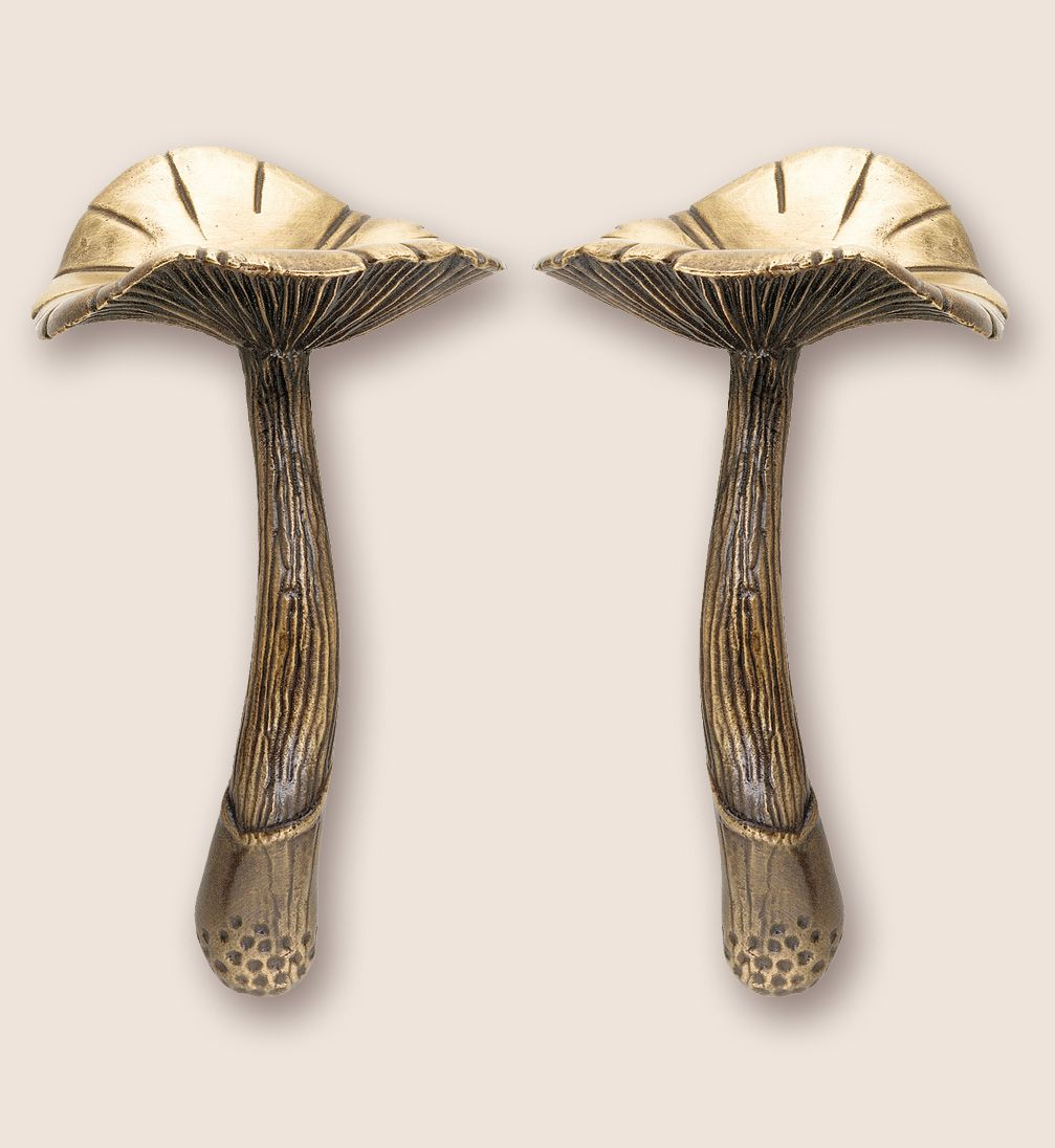 Martin Pierce Hardware   Flora: Custom Cabinet Pulls U0026knobs   Mushroom Door  Pulls. Love